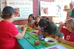 Making Clove Apples