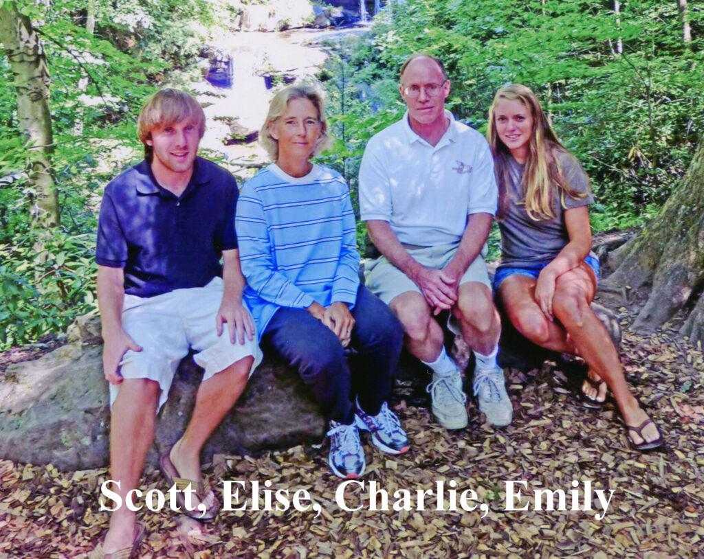 Scott, Elise, Charles, & Emily 2012