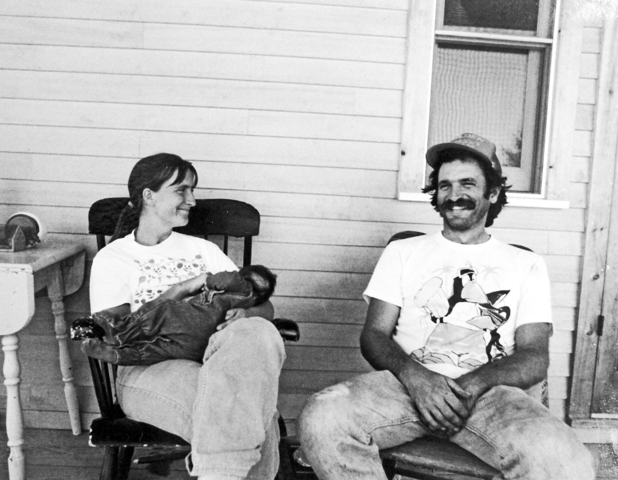 Will & Judy. Flashback.1991. cropped